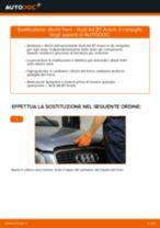 Come cambiare dischi freno della parte posteriore su Audi A4 B7 Avant - Guida alla sostituzione