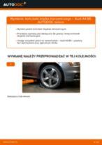 Wymiana Osłona Drążka Kierowniczego AUDI A4: instrukcja napraw