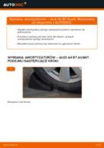 Jak wymienić amortyzator tył w Audi A4 B7 Avant - poradnik naprawy