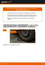 Πώς να αλλάξετε ακρόμπαρο σε Audi A3 8PA - Οδηγίες αντικατάστασης