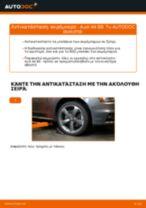 Πώς να αλλάξετε ακρόμπαρο σε Audi A4 B8 - Οδηγίες αντικατάστασης