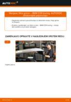 Kako zamenjati avtodel filter goriva na avtu BMW E39 touring – vodnik menjave