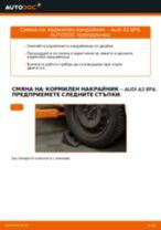 Препоръки от майстори за смяната на AUDI Audi A3 8l1 1.8 T Свързваща щанга