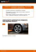 Стъпка по стъпка ръководство за ремонт на Audi A5 B8 Кабрио
