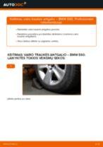 Kaip pakeisti BMW E60 vairo traukės antgalio - keitimo instrukcija