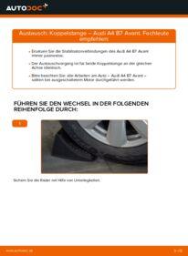 Wie der Wechsel durchführt wird: Koppelstange 2.0 TDI Audi A4 b7 tauschen