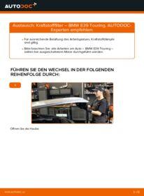 Wie der Wechsel ausgeführt wird: Kraftstofffilter beim BMW 5 SERIES