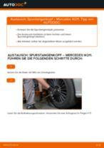 Wie Mercedes W211 Spurstangenkopf wechseln - Schritt für Schritt Anleitung