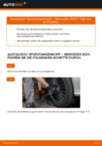 Wie Mercedes W211 Spurstangenkopf wechseln - Anleitung
