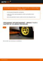 Stuurkogel vervangen RENAULT CLIO: werkplaatshandboek