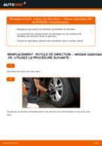 Notre guide PDF gratuit vous aidera à résoudre vos problèmes de NISSAN Nissan Qashqai J10 2.0 dCi Allrad Amortisseurs