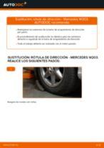 Cómo cambiar: rótula de dirección - Mercedes W203 | Guía de sustitución