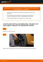 Cómo cambiar: rótula de dirección - Peugeot 207 hatchback   Guía de sustitución