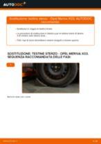 KAMOKA 999048 per Meriva A (X03) | PDF istruzioni di sostituzione