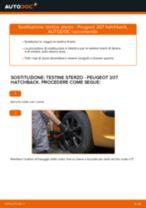 Come cambiare testine sterzo su Peugeot 207 hatchback - Guida alla sostituzione