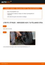 Byta styrled på Mercedes W211 – utbytesguide