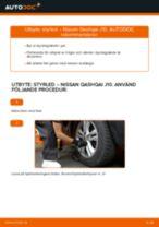 Bilmekanikers rekommendationer om att byta NISSAN Nissan Qashqai j10 2.0 dCi Allrad Hjullager