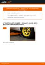 Slik bytter du styreledd på en Renault Clio 3 – veiledning