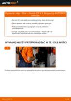 Jak wymienić oleju silnikowego i filtra w Honda CR-V II - poradnik naprawy