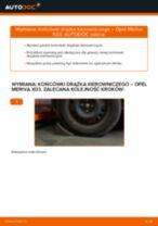 Jak wymienić końcówkę drążka kierowniczego w Opel Meriva X03 - poradnik naprawy