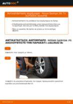 Οι συστάσεις του μηχανικού αυτοκινήτου για την αντικατάσταση NISSAN Nissan Qashqai j10 2.0 dCi Allrad Ψαλίδια
