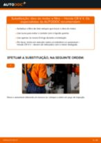 Substituição Filtro de Óleo HONDA CR-V: pdf gratuito