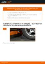 Instruções gratuitas online sobre como substituir Rótula da barra de direcção SEAT IBIZA IV (6L1)