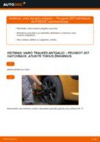 VW TOURAN Vidinė Skersinė Vairo Trauklė pakeisti: žinynai pdf