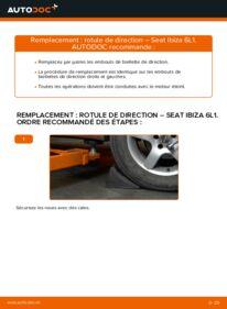 Comment effectuer un remplacement de Rotule De Direction sur 1.9 TDI Seat Ibiza 3