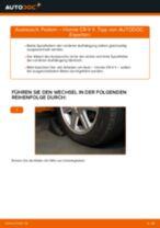 Tipps von Automechanikern zum Wechsel von HONDA Honda CR-V II 2.2 CTDi (RD9) Federn