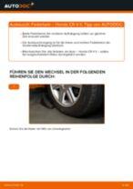 HONDA Stoßdämpfer Satz Gasdruck wechseln - Online-Handbuch PDF