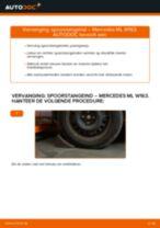 Spurstangenkopf veranderen MERCEDES-BENZ M-CLASS: gratis pdf