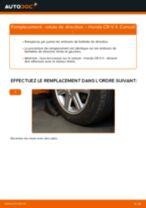 Changement Rotule De Direction HONDA CR-V II (RD_) : guide pdf
