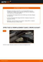 Comment changer Détecteur de l'usure des plaquettes de frein Mercedes W638 Bus - manuel en ligne