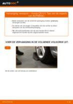 Advies en uitleg voor het vervangen van het Stabilisator van de Mazda 3 BL