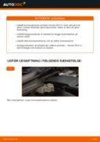 Udskift bremseklodser bag - Honda CR-V II   Brugeranvisning