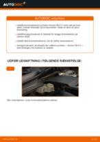 Udskift bremseskiver for - Honda CR-V II   Brugeranvisning