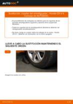 Recomendaciones de mecánicos de automóviles para reemplazar Rótula de Dirección en un HONDA Honda CR-V II 2.2 CTDi (RD9)