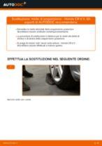 Cambiare Molla Ammortizzatore HONDA CR-V: manuale tecnico d'officina