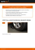 Cambio Molla sospensione autotelaio posteriore e anteriore HONDA da soli - manuale online pdf