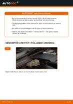 Hur byter man Hjullagersats bak och fram VOLVO V50 - handbok online