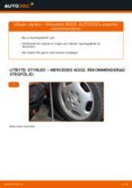 Byta styrled på Mercedes W202 – utbytesguide