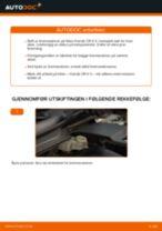 Skifte Bremseskiver HONDA CR-V: verkstedhåndbok