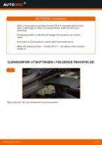 Slik bytter du bremseskiver fremme på en Honda CR-V II – veiledning