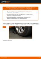 Jak wymienić sprężyny zawieszenia przód w Honda CR-V II - poradnik naprawy