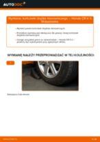 Jak wymienić końcówkę drążka kierowniczego w Honda CR-V II - poradnik naprawy