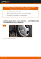 Vymeniť Čap riadenia MERCEDES-BENZ C-CLASS: zadarmo pdf