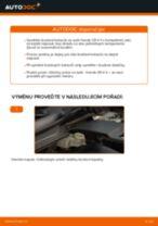 Audi A3 8va výměna Brzdove hadicky zadní levý: návody pdf
