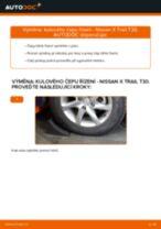 Jak vyměnit kulový čep řízení na Nissan X Trail T30 – návod k výměně