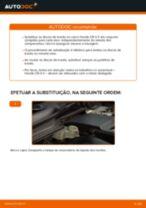 Mudar Discos de Travão HONDA CR-V: manual técnico